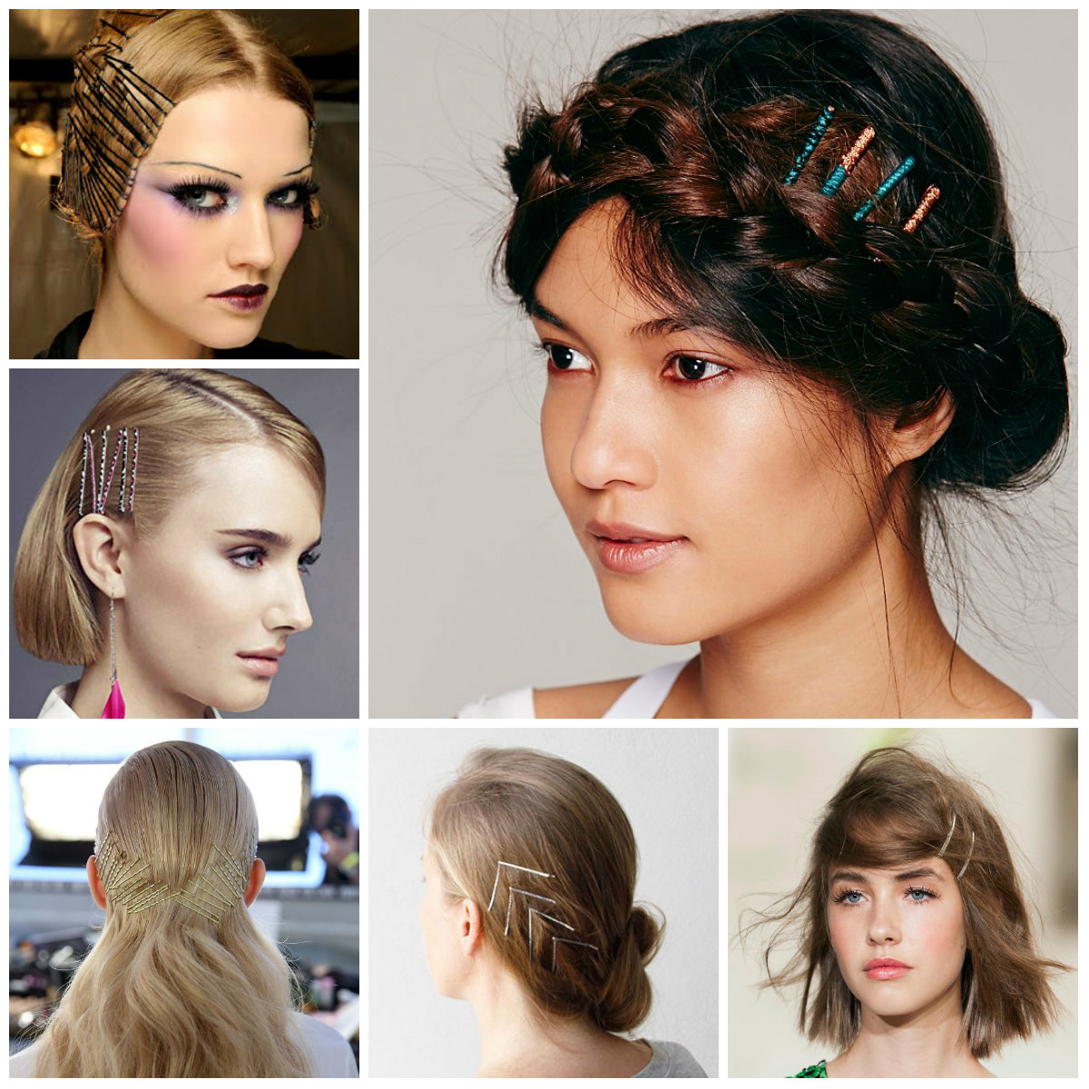 bobby pin hairstyles 2016