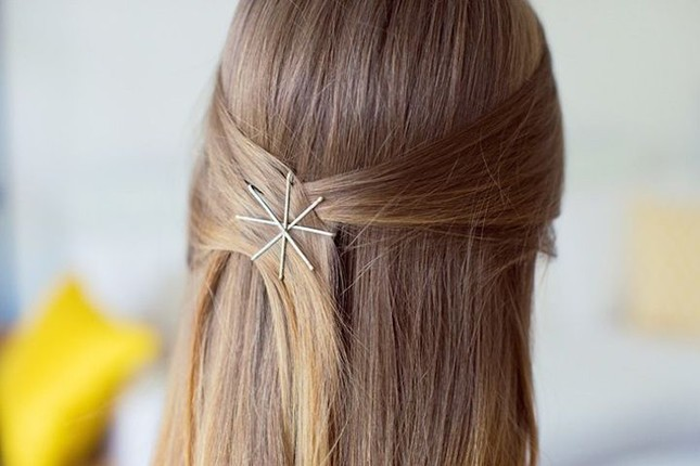 Bobby Pin Updo Hairstyles Hairstyles By Unixcode