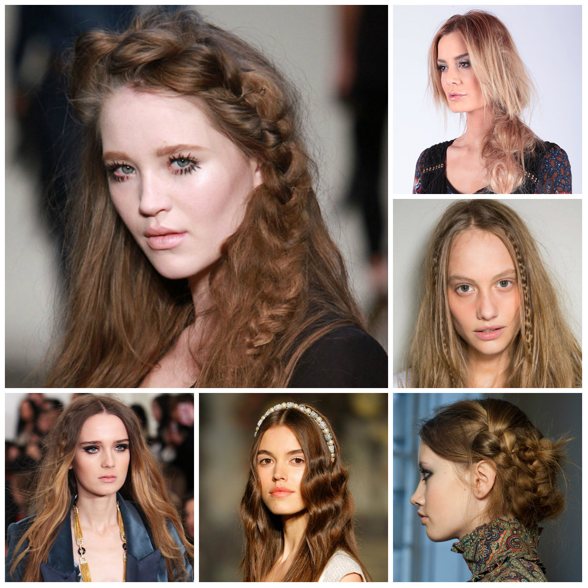Runway Boho Hairstyle Inspiration For 2016 2019 Haircuts