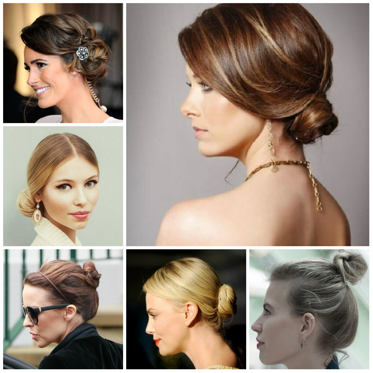 bun hairstyles for short hair 2016