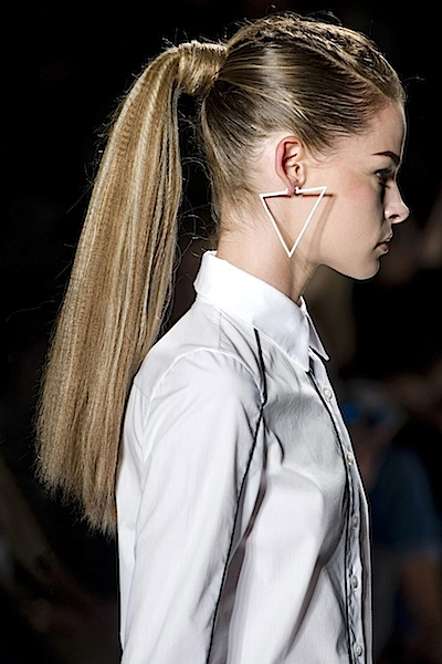 crimp ponytail hair 2016