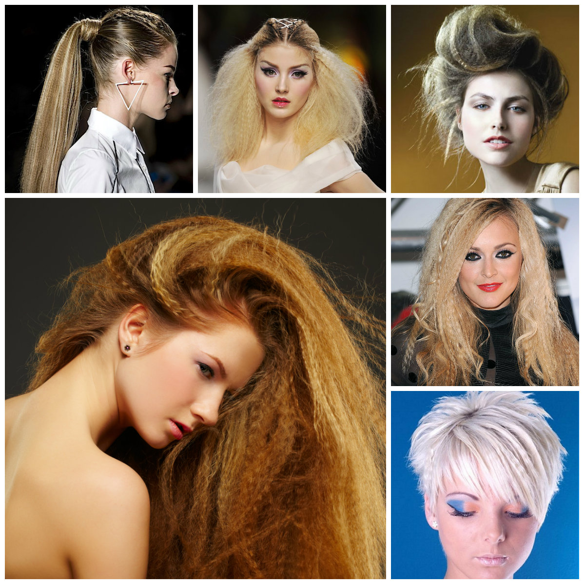 crimped hairstyles for 2016