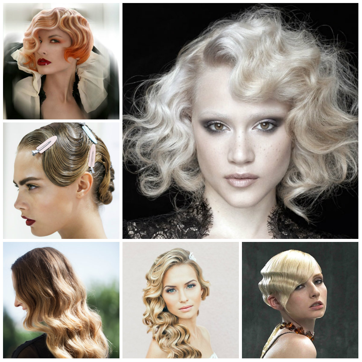Phenomenal Retro Finger Wave Hairstyles 2016 2017 Haircuts Hairstyles And Short Hairstyles For Black Women Fulllsitofus