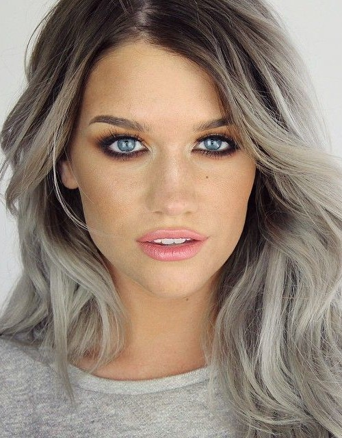 Hair Color Ideas With Dark Roots For 2016 2019 Haircuts