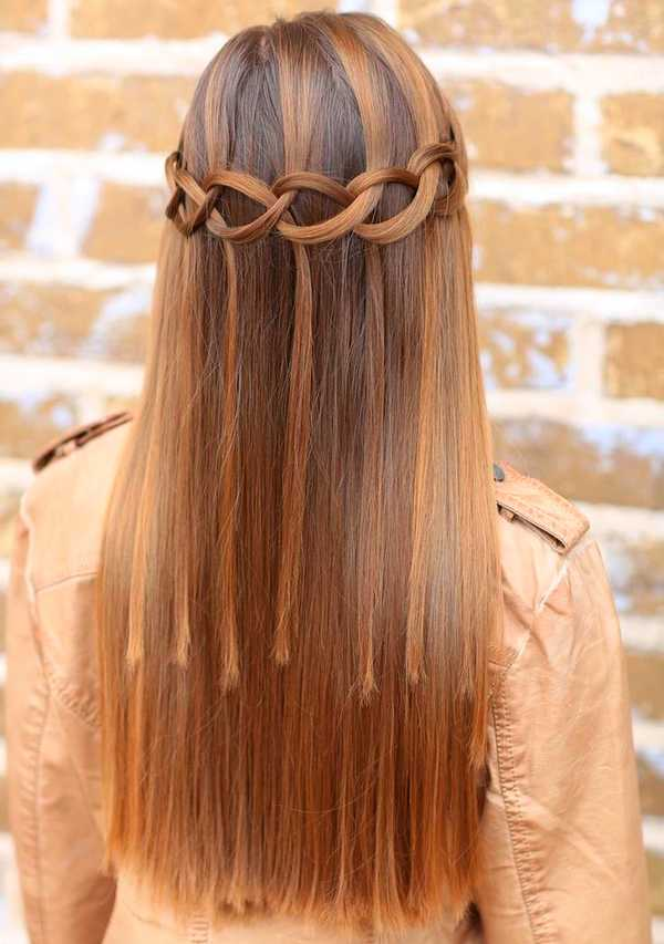 Simple And Easy Hairstyles For Straight Hair : Braid straight hair