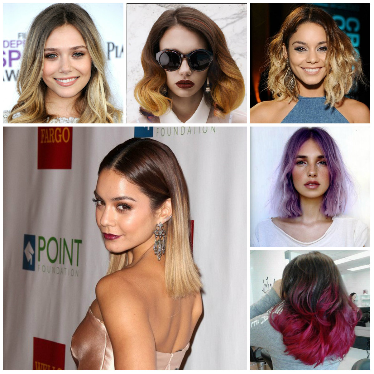 medium ombre hairstyles 2016