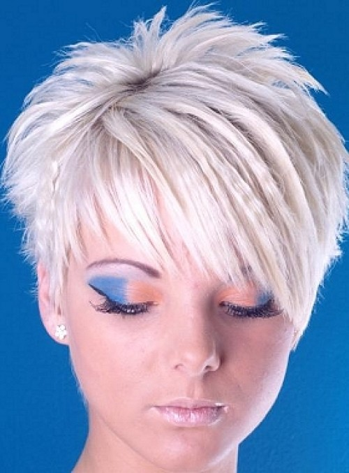 short crimp hairstyle idea 2016