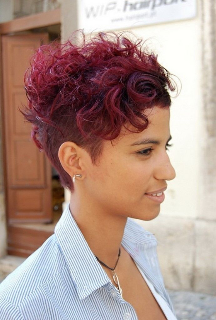 2016 Short Curly Hairstyles 2019 Haircuts Hairstyles And Hair Colors