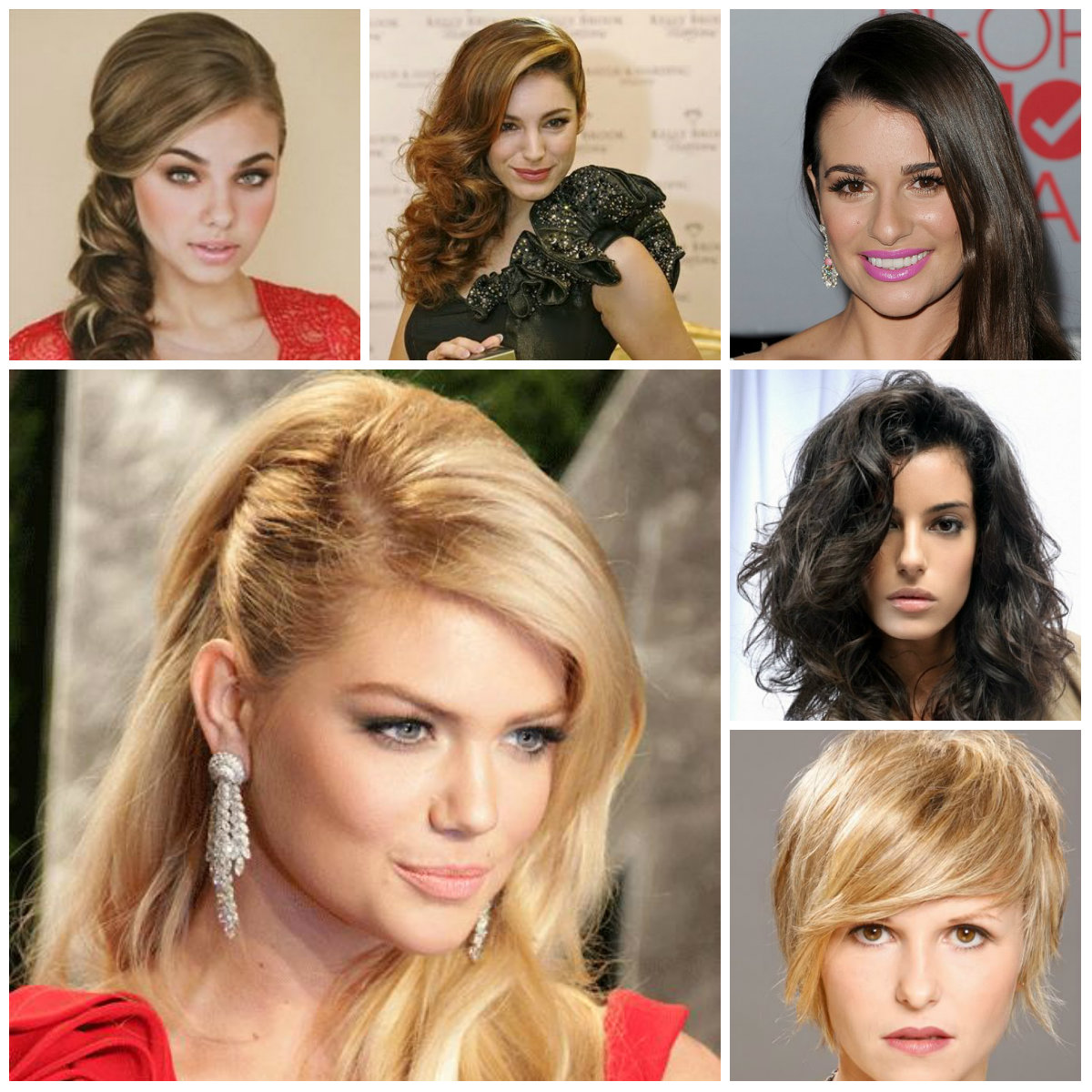 side swept hairstyles for 2016