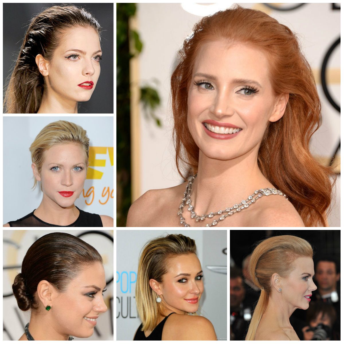 slicked back hairstyles for 2016