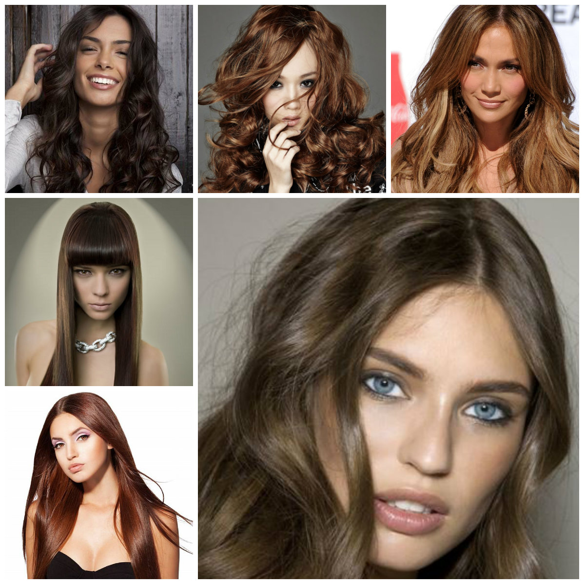 Trendy Brown Hair Colors Haircuts Hairstyles And Hair - Hair colour of 2016