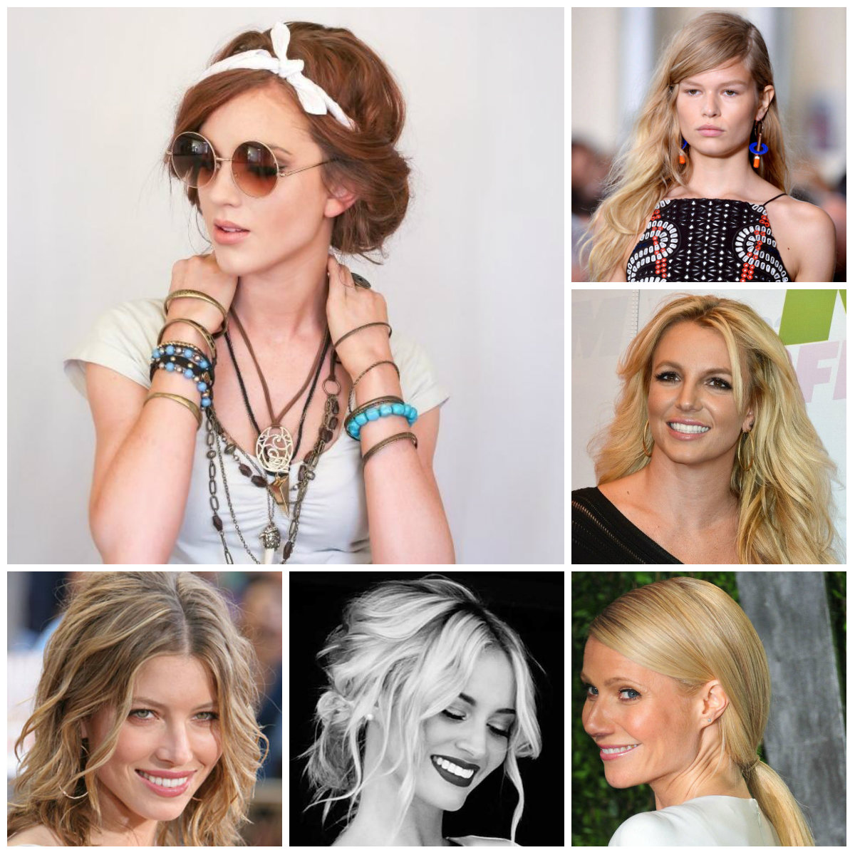 Casual Loose Hairstyle Ideas for 2016