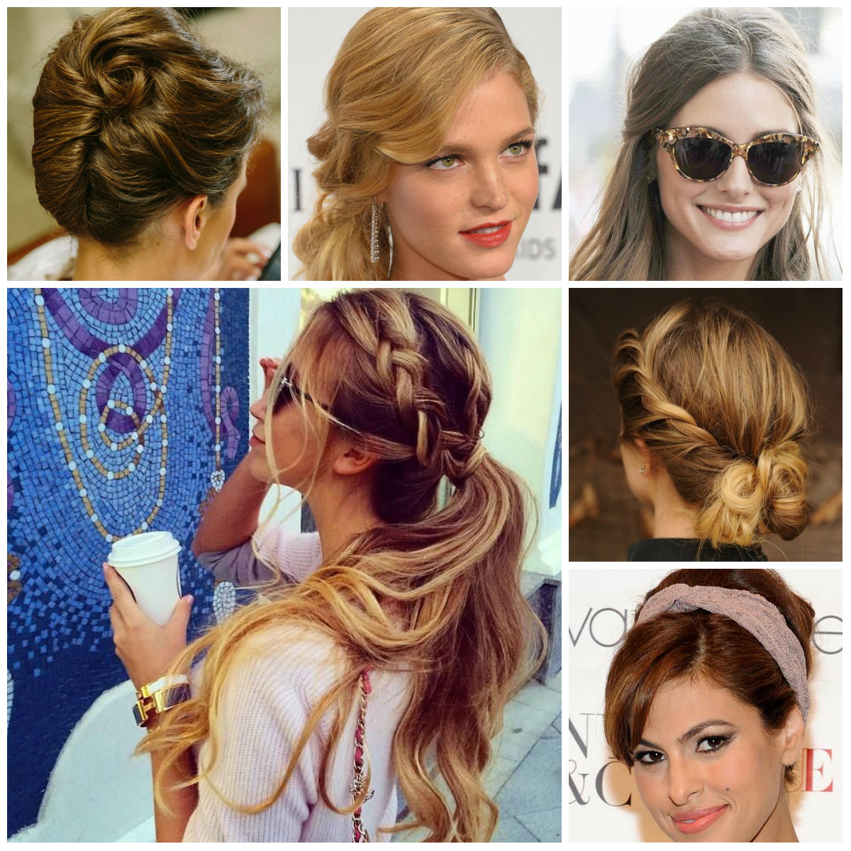 Cool Easy To Do And Casual Updo Hairstyles For 2016 2017 Haircuts Short Hairstyles Gunalazisus