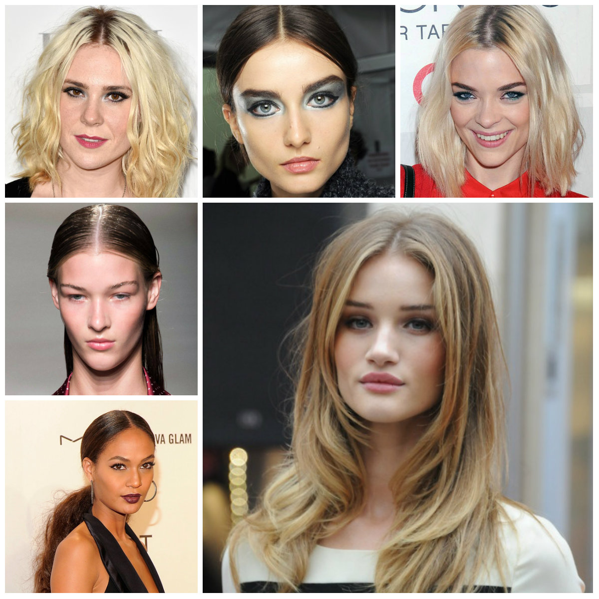 center parted hairstyles for 2016