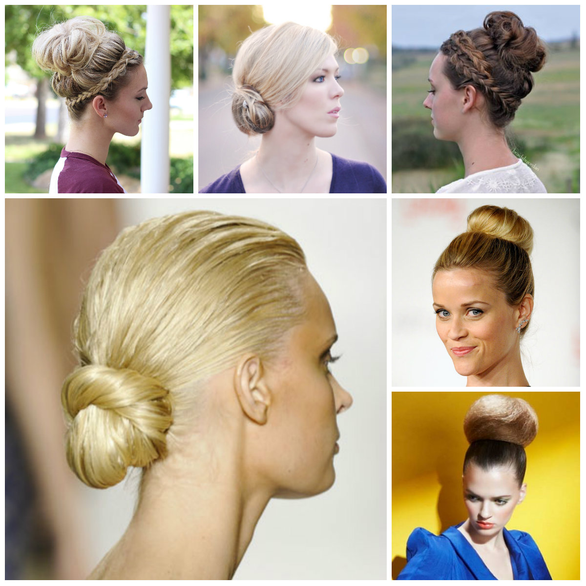 Excellent Elegant Ballerina Bun Hairstyle 2017 Haircuts Hairstyles And Hairstyles For Women Draintrainus