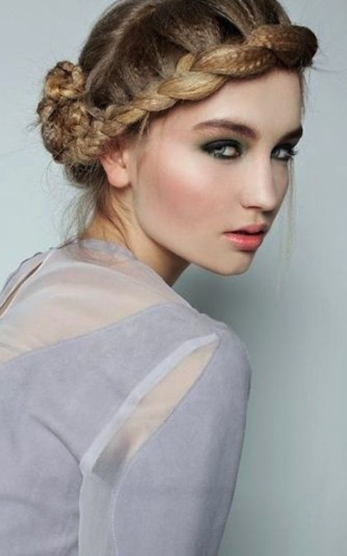 crimped braided updo 2016