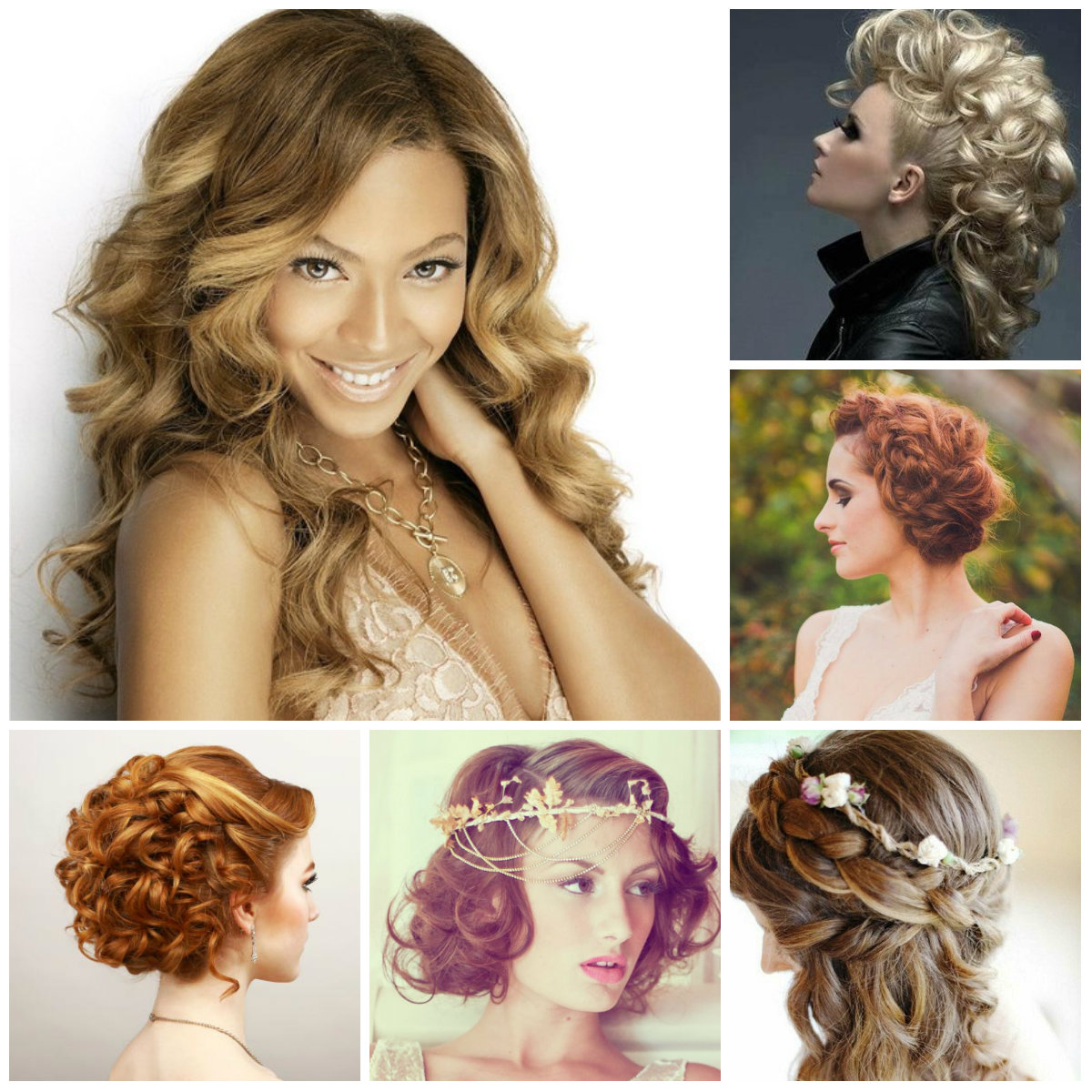 Peachy 2016 Pretty Curly Hairstyles For Prom 2017 Haircuts Hairstyles Hairstyles For Women Draintrainus