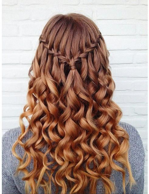 Cutest Waterfall Braid Hairstyles 2016 | 2019 Haircuts, Hairstyles and Hair Colors