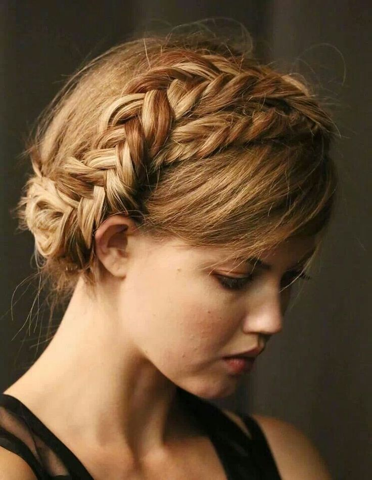 fishtail crown braid hairstyle 2016