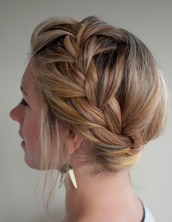 french crown braid hairstyle 2016