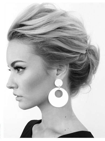 french twist updo hairstyle 2016