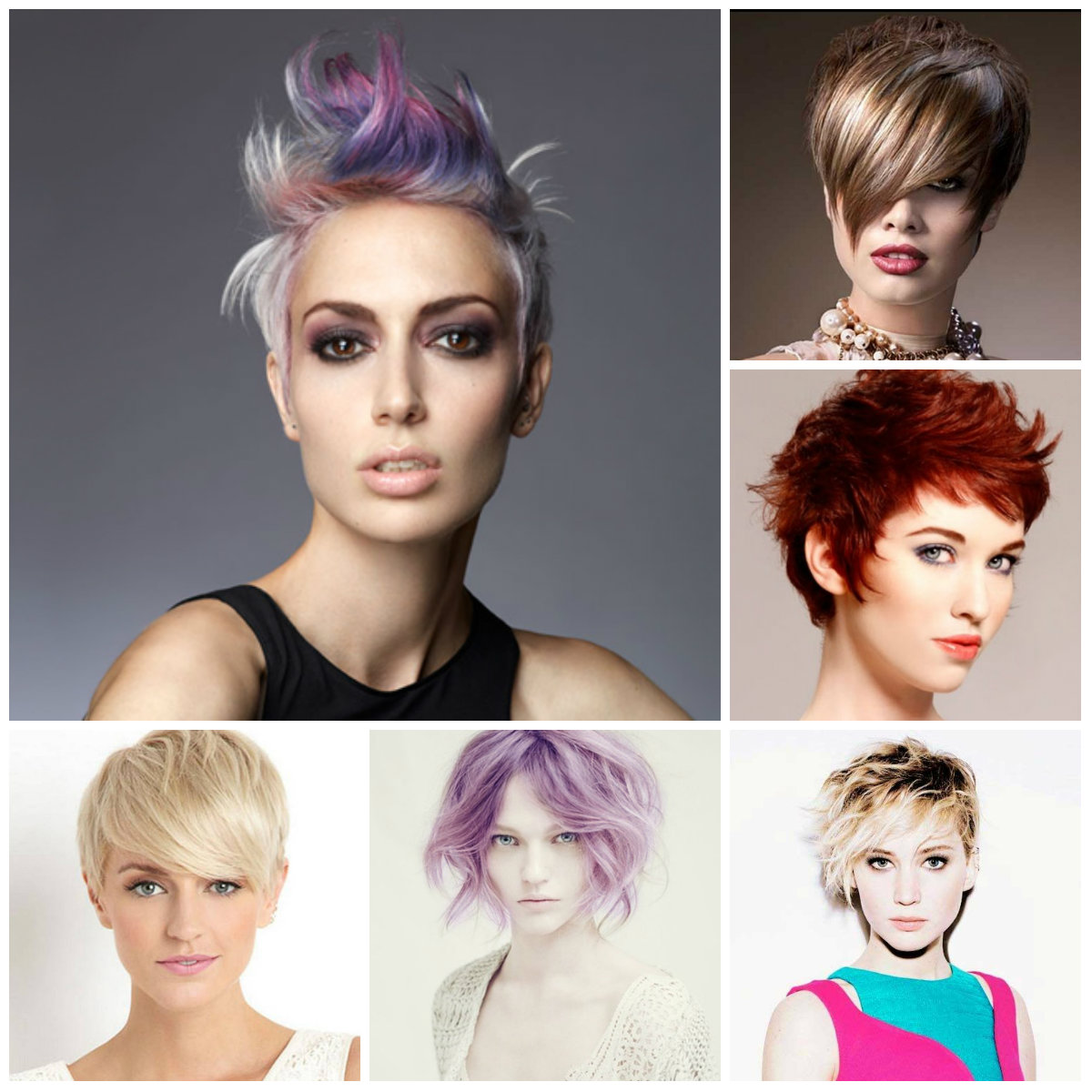 hair colors for short hair 2016