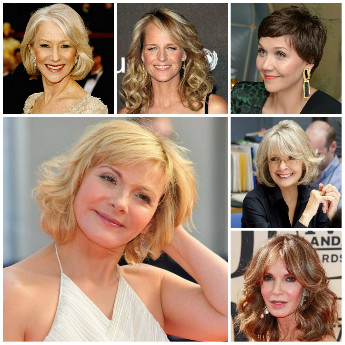 haircuts for mature women 2016