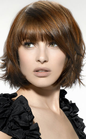layered bob haircut 2016