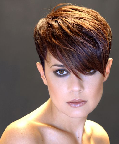 layered pixie haircut 2016
