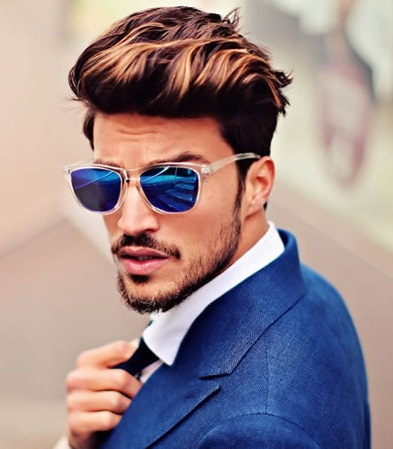 layered pompadour hairstyle 2016