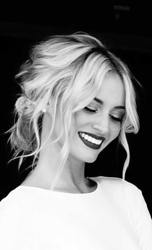 Casual Loose Hairstyle Ideas For 2016 2019 Haircuts