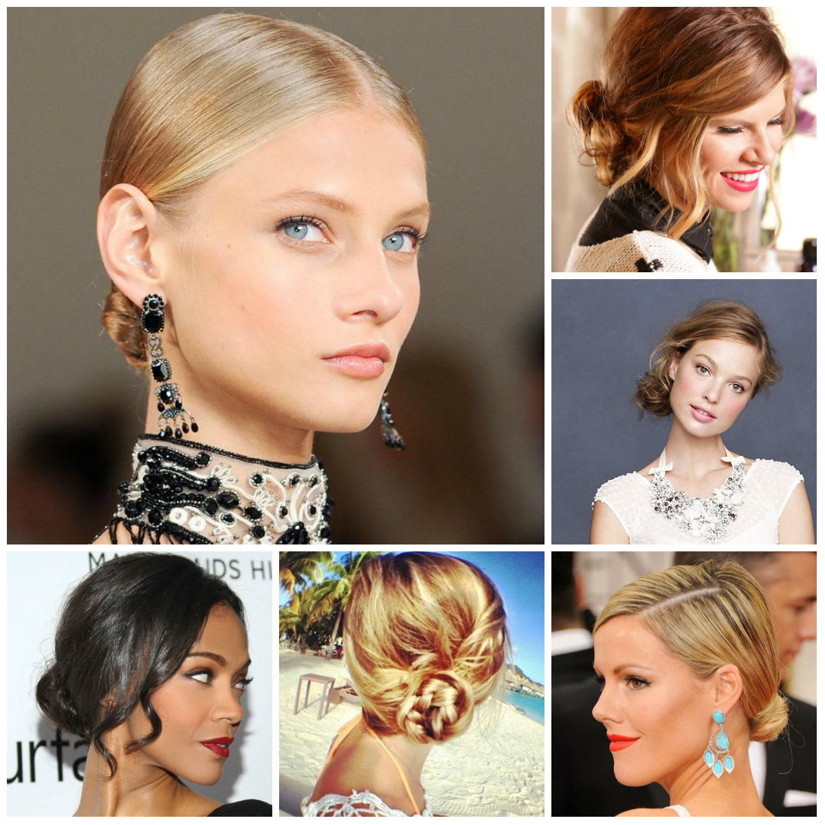 low bun hairstyles for 2016