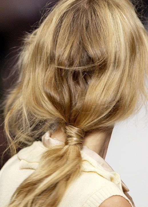 7 Fashion Week Ponytail Hairstyles For 2016 2019