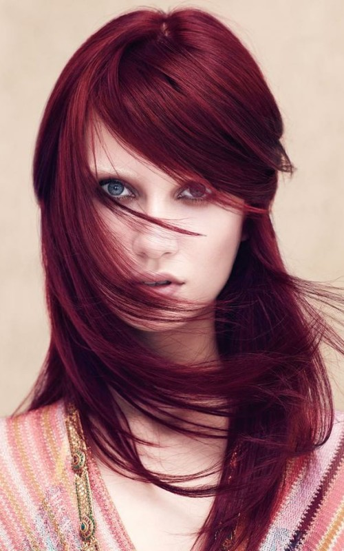 Marsala Hair Color For 2016 2019 Haircuts Hairstyles