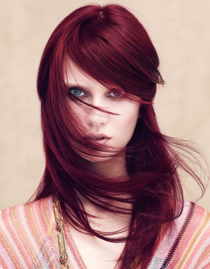 Marsala Hair Color For 2016 2019 Haircuts Hairstyles And Hair Colors