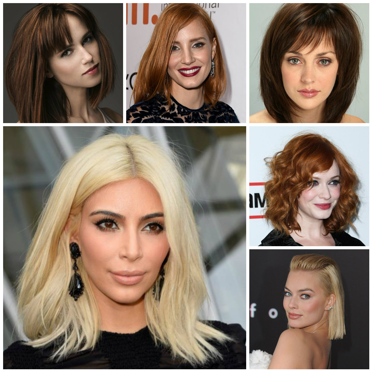 Hairstyles 2016 dark hair - Here They Are Medium Bob Hairstyles 2016