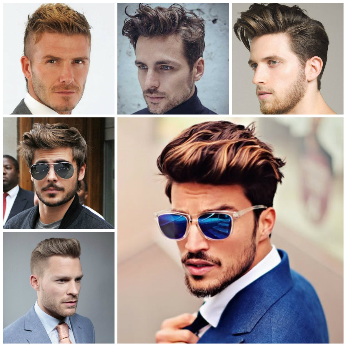 pompadour hairstyles for men 2016