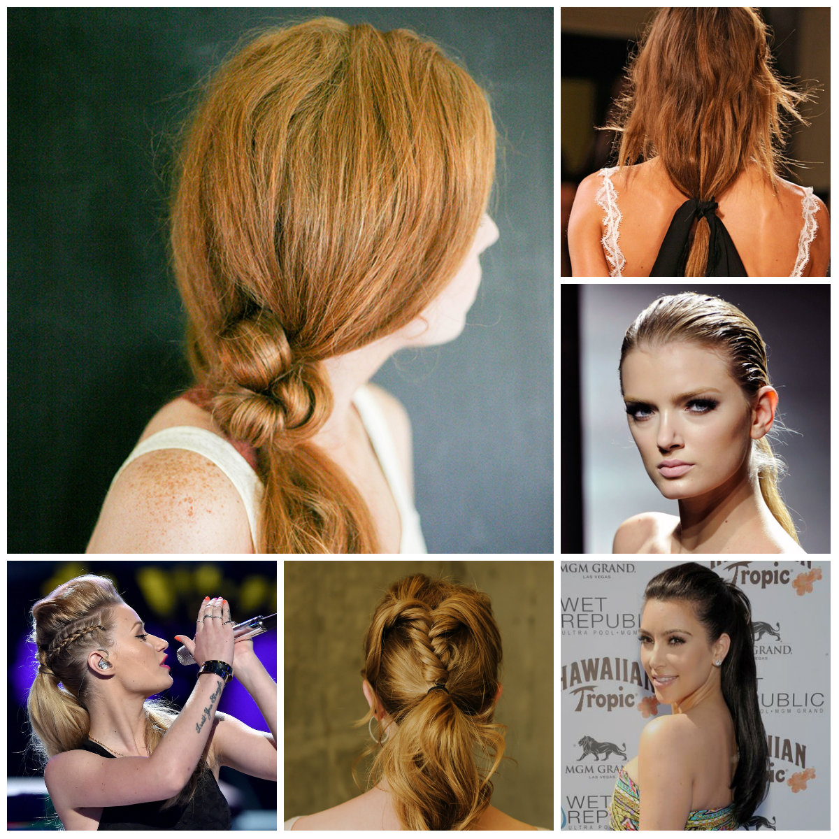 Superb Latest Ponytail Hairstyle Ideas To Try In 2016 2017 Haircuts Short Hairstyles Gunalazisus