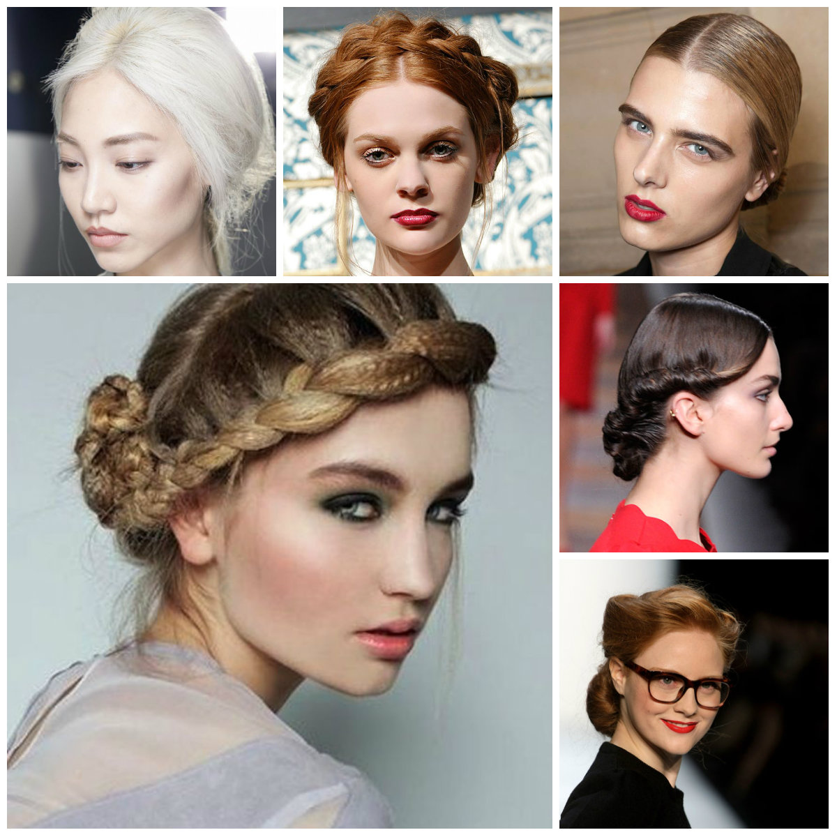 runway updo hairstyles for 2016