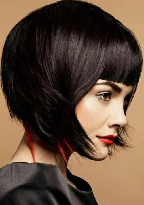 short black bob haircut 2016