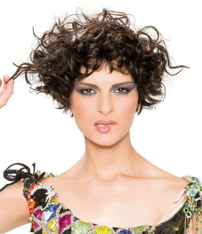 short bob haircut for curly hair 2016
