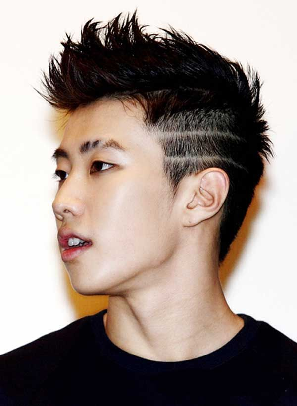 Popular Asian Male Hairstyles for 2016