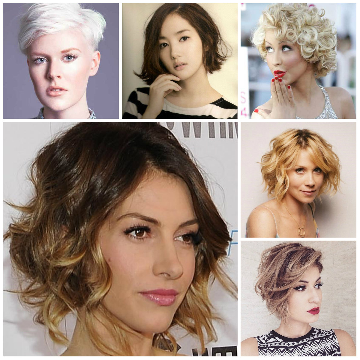 short messy hairstyles 2016
