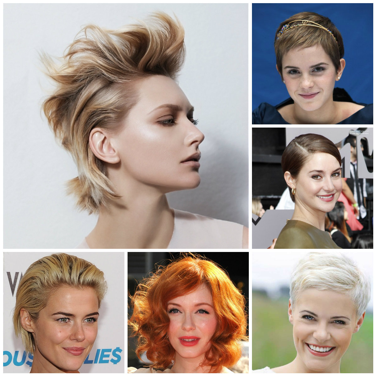 short party hairstyles 2016