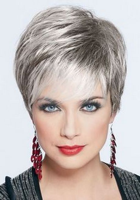 short silver pixie hairstyle 2016