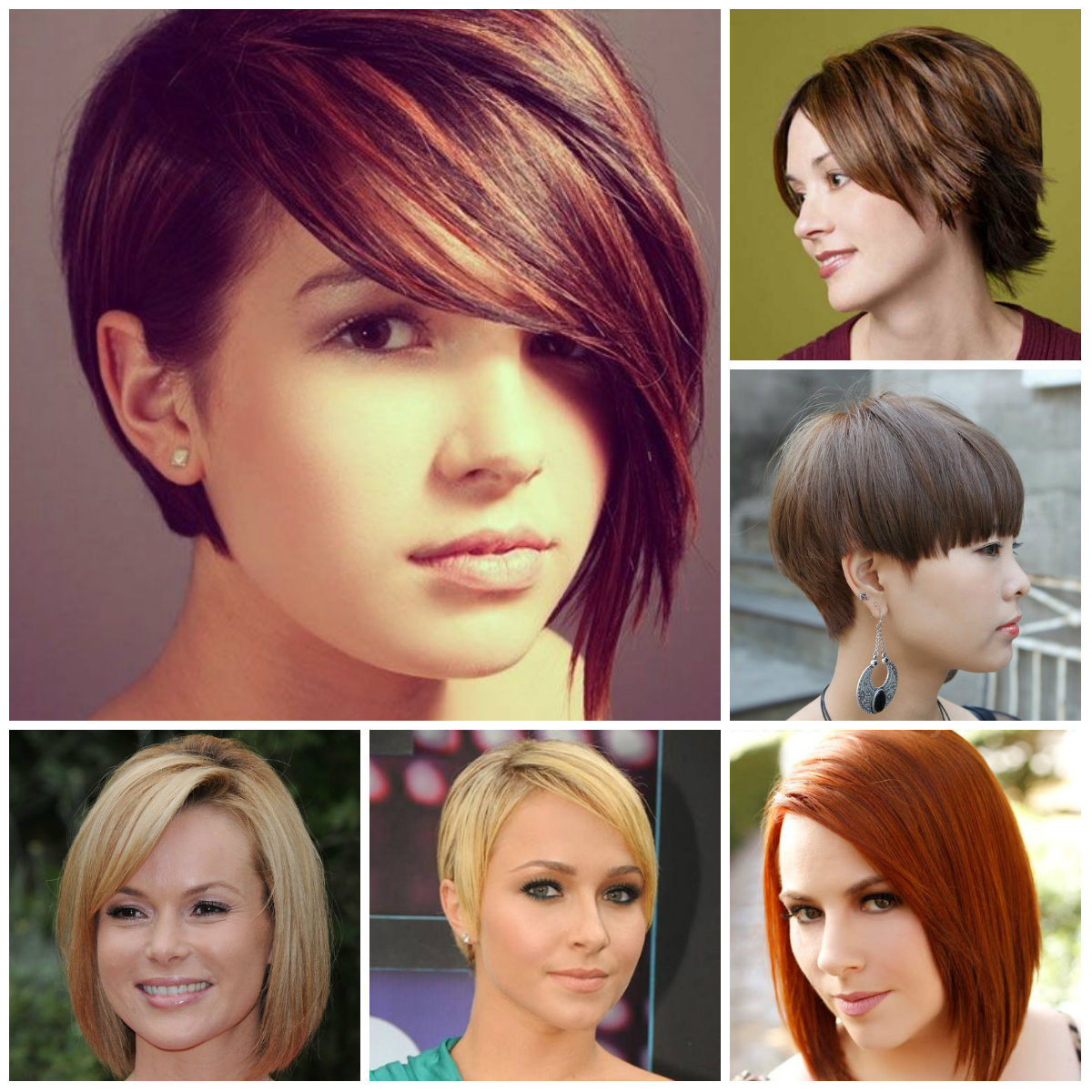 short straight haircuts 2016
