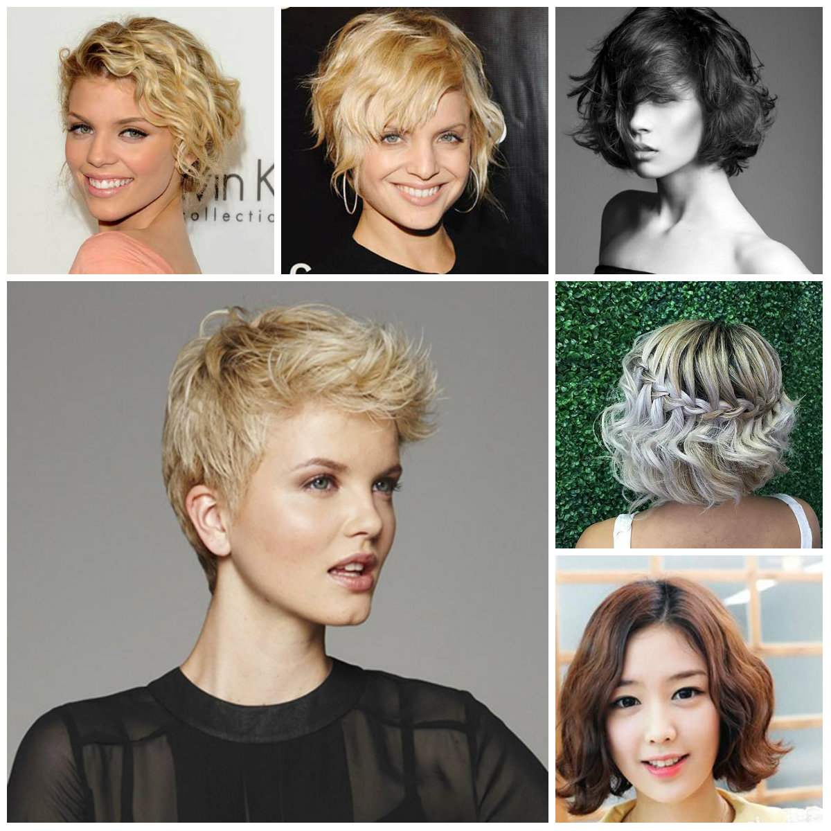 Short Wavy Hairstyles For 2016