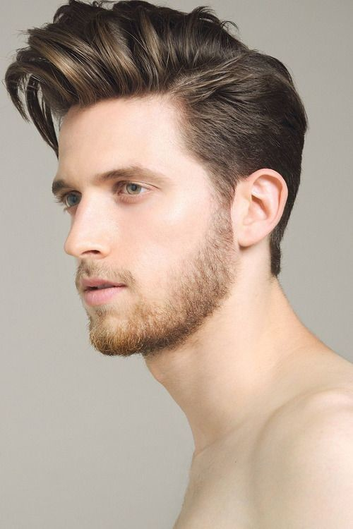 side pompadour hairstyle 2016