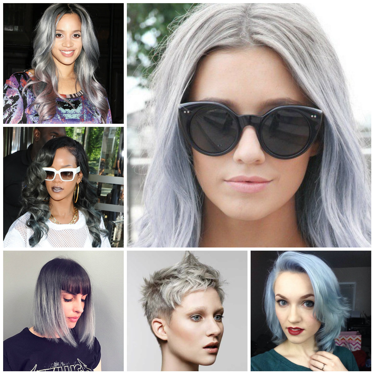 silver hair colors for 2016