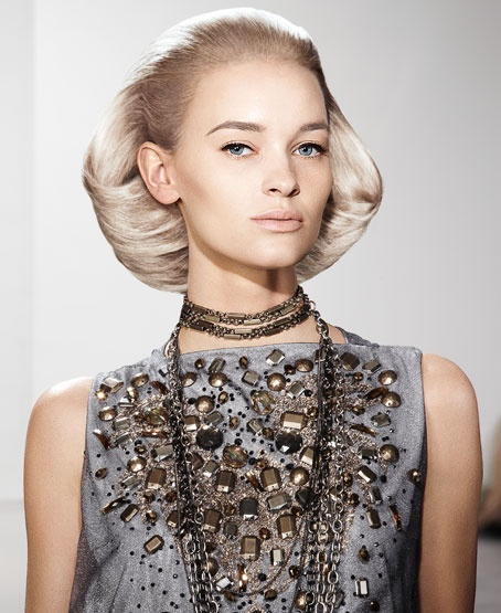 slicked back faux bob hairstyle 2016